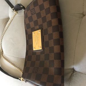Louis Vuitton Eva Damier  Cross Body Bag